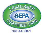 Paul Gilbert & Daughters is an EPA Lead-Safe Certified Firm - #NAT-44558-1